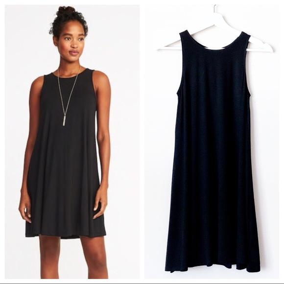 c5a7fafa14ed Old Navy Dresses | Nwt Black Jersey Sleeveless Swing Dress | Poshmark